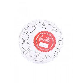 Салфетки ажурные круглые D=10cм (250шт)