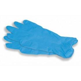 Перчатки нитриловые неопудренные S