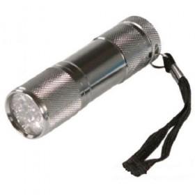 Фонарь светодиодный Ultra Flash 9-LED (3*R03, 9 LED, металлик)