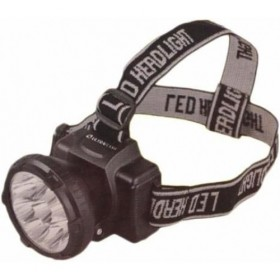 Фонарь налобный Ultra Flash 5365/5366 (220В, акк. 5 LED, 2 режима)