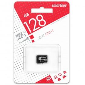 Микро SD 128GB Smart Buy Class 10 с адаптером