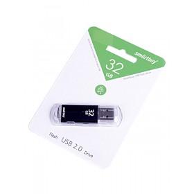 Флеш-накопитель 32GB Smart Buy V-Cut Black