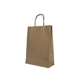 Пакет крафт 320х180х370 с ручками/К-03