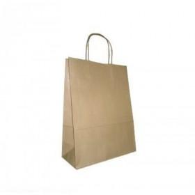 Пакет крафт 350х150х450 с ручками/К-05