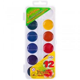 Акварельн. краски (Гамма) 12цв
