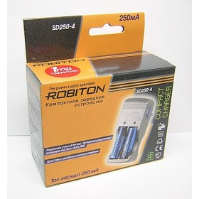 Зарядное уст-во Robiton SD250-4 (2*R3 2*R6)