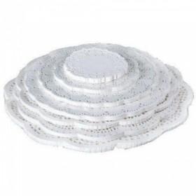 Салфетки ажурные круглые D=28cм (250шт)