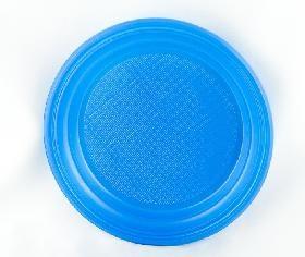 Тарелка d 165мм дес. синяя (ИП)