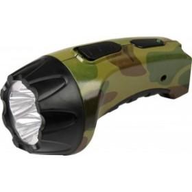 Фонарь светодиодный Ultra Flash LED 3804ML (220В, 4 LED) цв. милитари