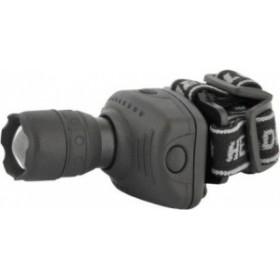 Фонарь налобный Ultra Flash 5354 ZOOM (LED 1 ватт, 3 режима, 3*R3)