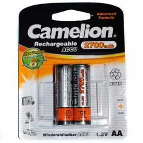 Аккумуляторы Camelion R06-2BL (2700mAh)