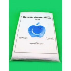 Пакет фасов. 30х40, 8мкм (Яблоко синее) ФНД571