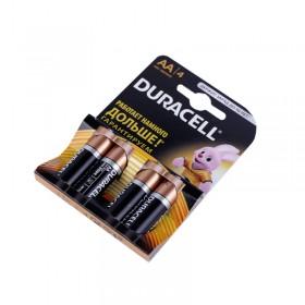 Элемент питания Duracell LR06-4BL