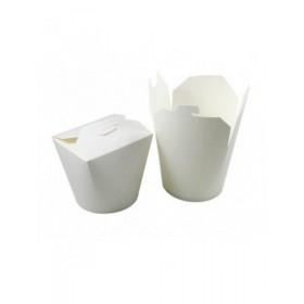 Чайна-бокс для лапши 500мл белый/33169