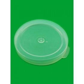 Крышка полиэтиленовая универсальная прозрачн.