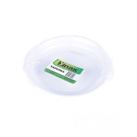 Тарелка d 170 белая (6шт) УПАК