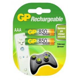 Аккумуляторы  GP R03-2BL (850mAh)