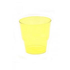 Стакан 200мл. д/хол. желтый (50шт)
