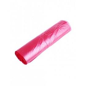 Пакет фасов. 24х37, 8мкм (100 шт) рулон розовый ФНД378