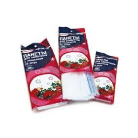 Пакеты для заморозки с защелкой 18х25 (25шт) Komfi