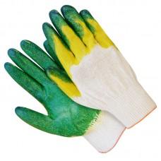 Перчатки с 2-ым латексным покрытием