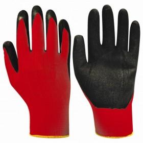 Перчатки Люкс нейлоновые с нитриловым покрытием