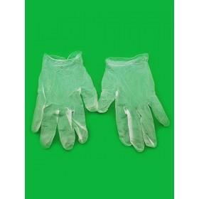 Перчатки виниловые неопудренные L