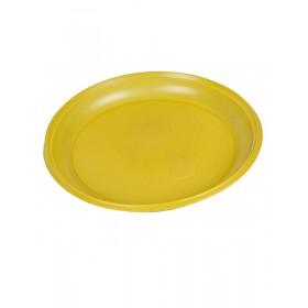 Тарелка d 205мм, желтая (ИП)