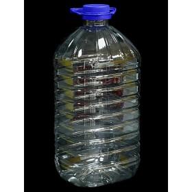 Бутылка  ПЭТ+ крышка 5,0л УПАК квадратная