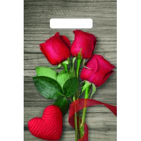 20х30 30мкм Тико ( Свежие розы ) пакет прор.