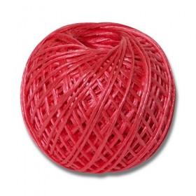 Шпагат полипропиленовый ПП 1600 текс по 0,2 кг красный