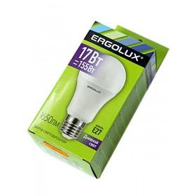 Лампа светодиодн. Ergolux LED A60-17W-Е27-6500К (дневной свет)