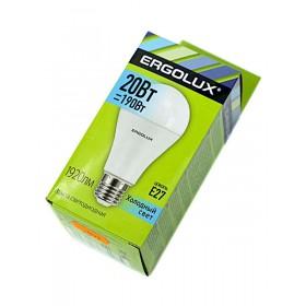 Лампа светодиодн. Ergolux LED A65-20W-Е27-4500К (холодный свет)
