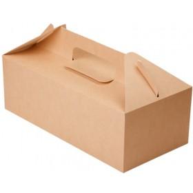 Коробка EcoBox  288*142*98 с ручкой
