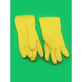 Перчатки латексные  хозяйственные L