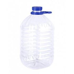 Бутылка  ПЭТ+ крышка 5,0л УПАК круглая