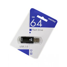 Флеш-накопитель 64GB Smart Buy V-Cut цв.асс.