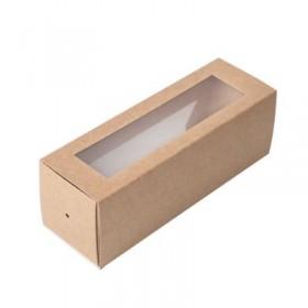 Коробка 180x55x55 Eco MВ6 , коричн/белый с окном