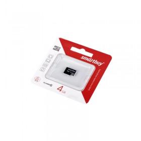 Микро SD 4GB Smart Buy class10 без адаптера