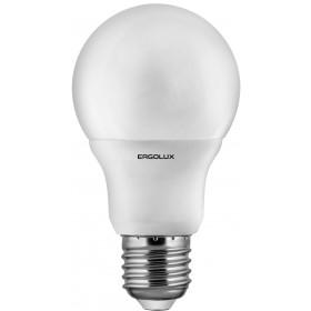 Лампа светодиодн. Ergolux LED A60-10W-Е27-4500К (холодный свет)
