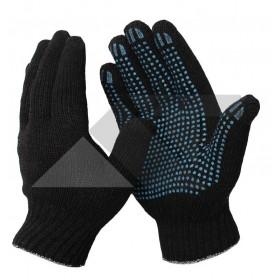 Перчатки 6-ти нитка П/Шерсть  с ПВХ  7,5 кл