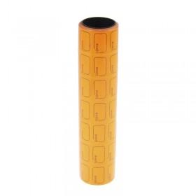 Ценник 25х38 оранжевый 601