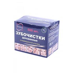 Зубочистки в инд.упаковке по 500шт п/п