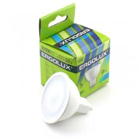 Лампа светодиодн. Ergolux LED GCDR-9W-GU5.3-4500K (холодный свет)