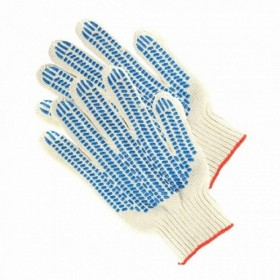 Перчатки 5-ти нитка с ПВХ 10кл.