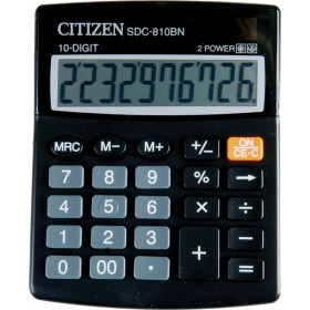 Калькулятор CITIZEN SDC810BN 10-разр. 125х100х32мм  (023101)