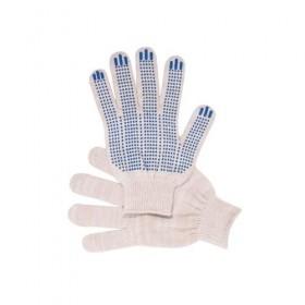 Перчатки 5-ти нитка с ПВХ