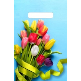 20х30 30мкм Тико ( Тюльпаны на голубом ) пакет прор.