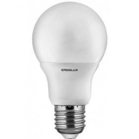 Лампа светодиодн. Ergolux LED A60-12W-Е27-6500К (дневной свет)
