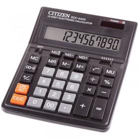 Калькулятор CITIZEN SDC-444 12 разр. двойн. питание 153*199*31мм (118840)